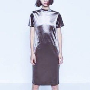 Zara Velvet Body-con Dress